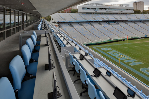 Lhc Structural Engineers Unc Chapel Hill Kenan Stadium